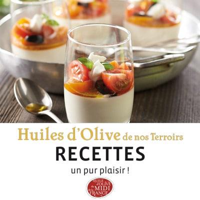 Livret de recettes L'huile d'olive de nos terroirs