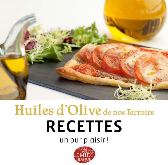 Livret de recettes : l'huile d'olive de nos terroirs