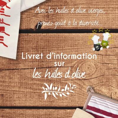 Livret d'information sur les huiles d'olive
