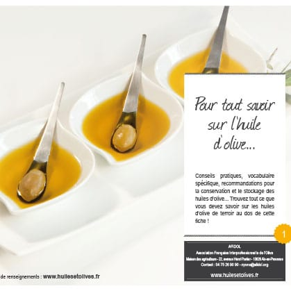 Des conseils et informations pour tout savoir sur l'huile d'olive