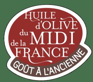 Logo huile d'olive du Midi de la France : goût à l'ancienne