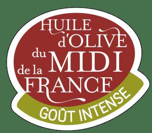 Logo huile d'olive du Midi de la France : goût intense