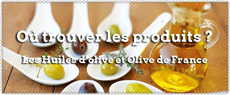trouver les produits oleicoles francais
